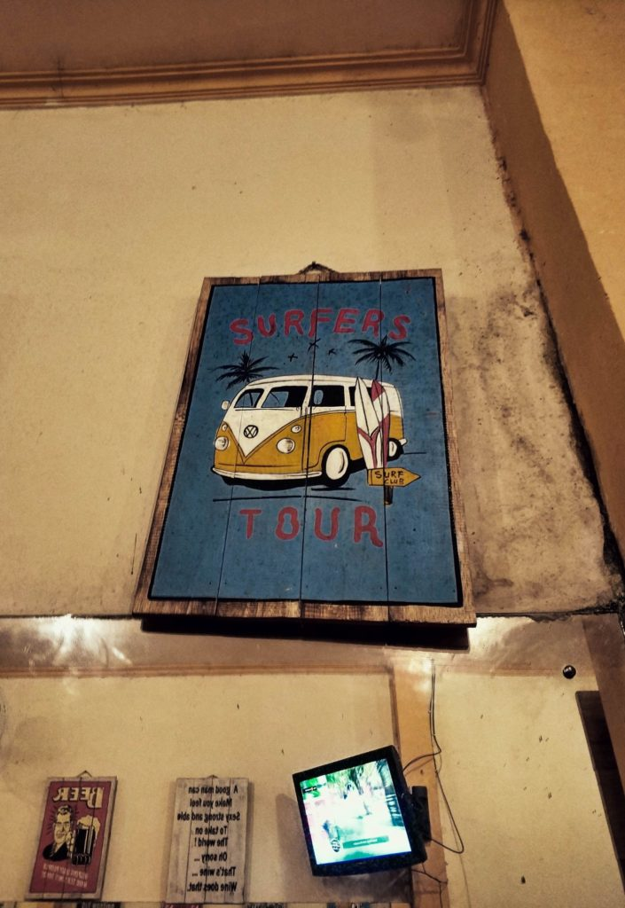 Кафе в городе Убуд, Бали
