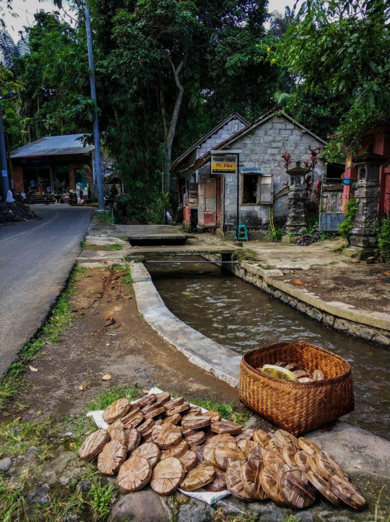 Оросительные каналы на острове Бали