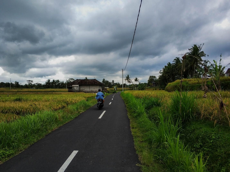 Сельские дороги на Бали