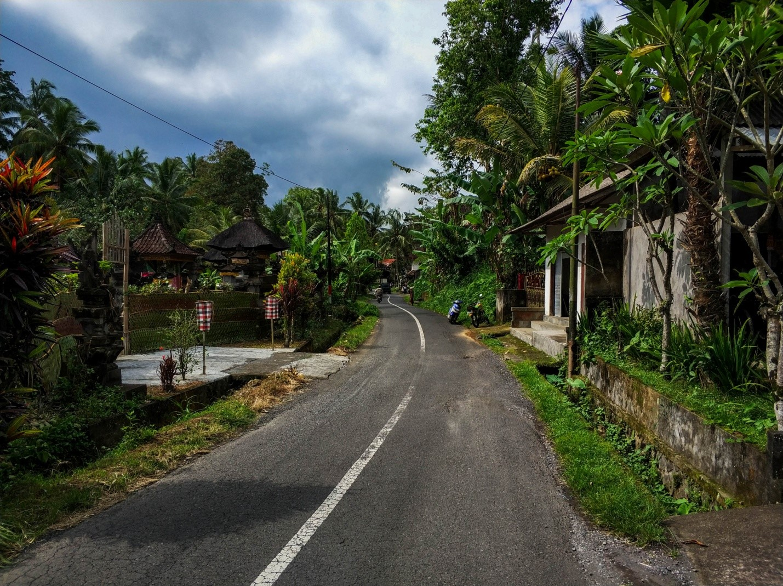 Деревня на острове Бали