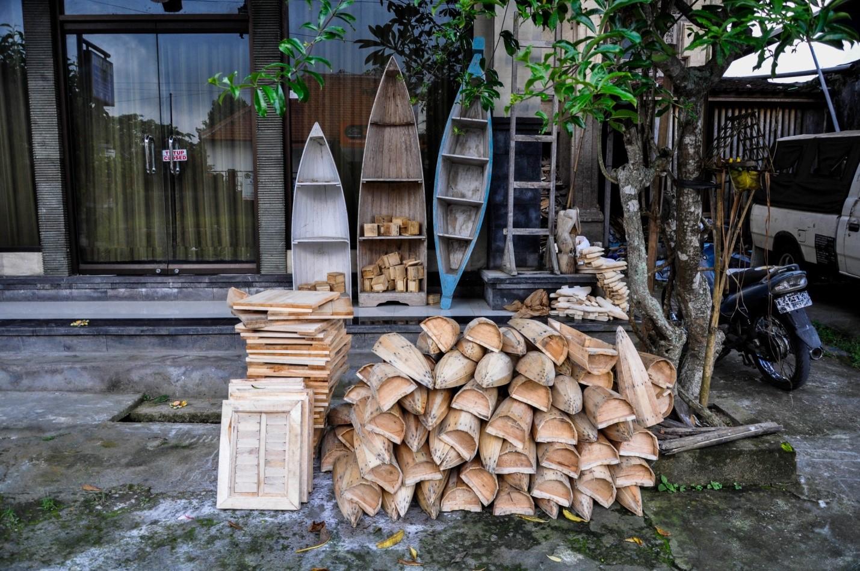 Сувенирный магазин на острове Бали