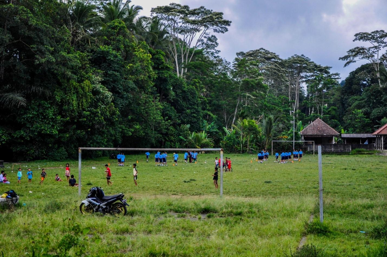 Футбол на острове Бали