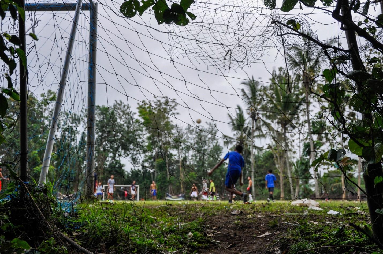 Футбол на Бали