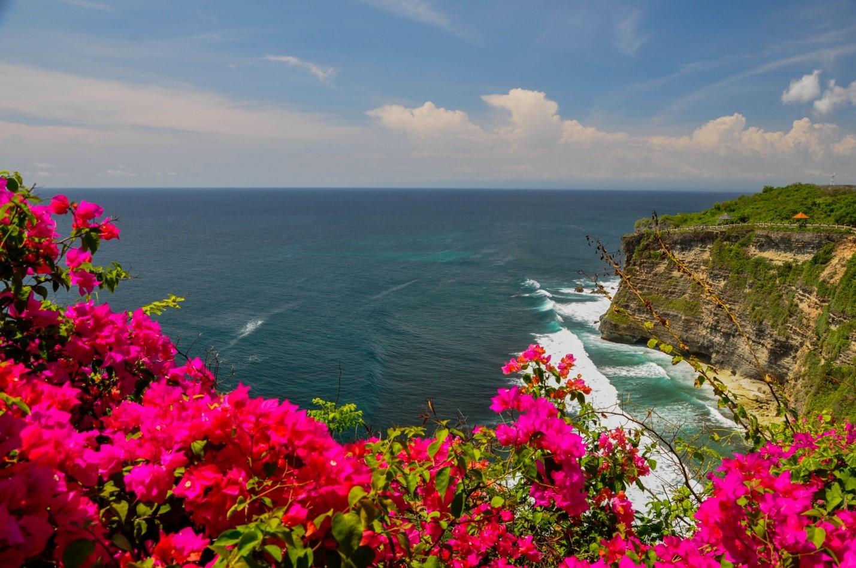 Океан и цвета на Бали