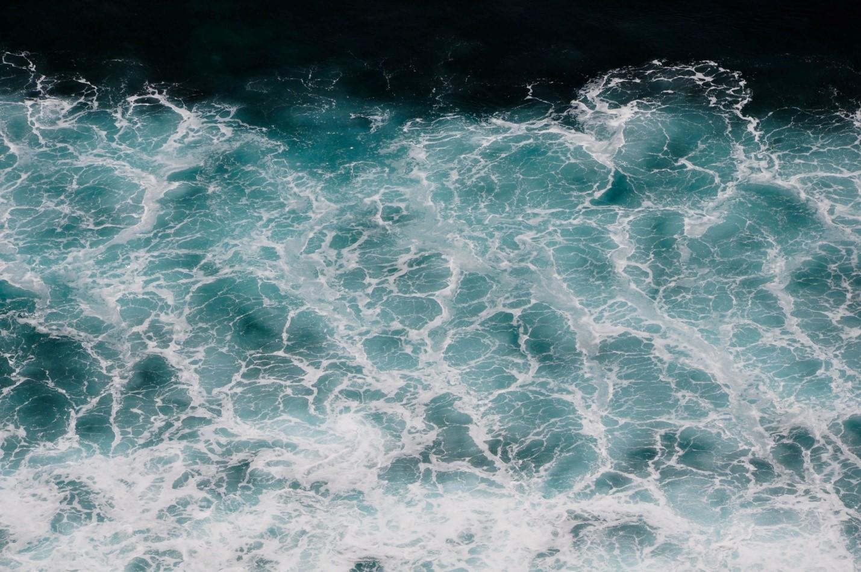 Океан на Бали, Бирюзовая вода