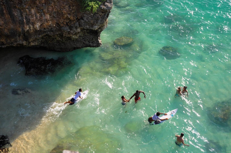 Тайный пляж серферов на Бали, Улувату