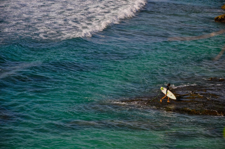 Серфинг в Улувату, Бали