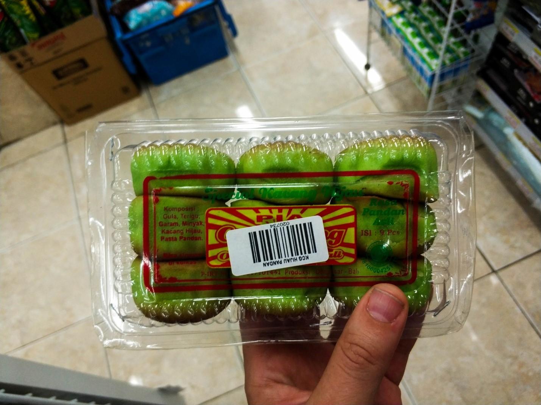 Зеленые продукты на Бали