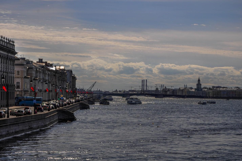 Виды с Троицкого моста, Санкт-Петербург