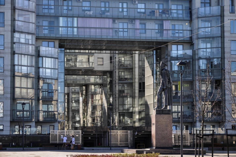 Памятник Дзержинскому в Санкт-Петербурге
