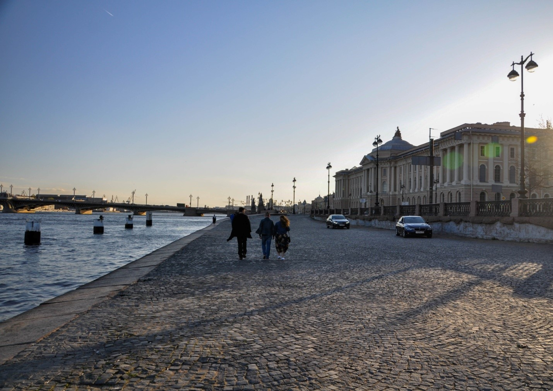 Набережная, Нева, Санкт-Петербург