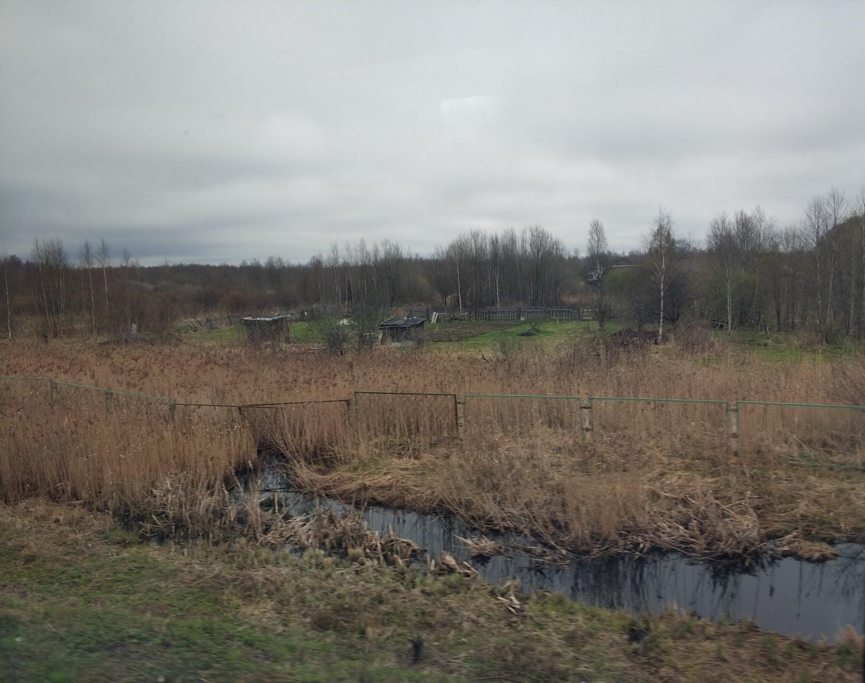 Русская деревня, село в России