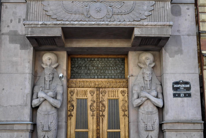 Египетский стиль в архитектуре Питера