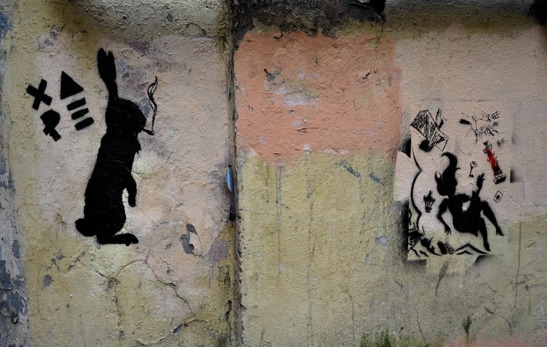 Уличное искусство в Питере, граффити в Санкт-Петербурге