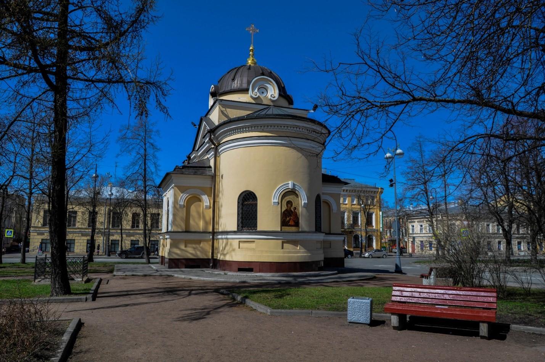 Кронштадтская часовня в честь Тихвинской иконы Божией матери
