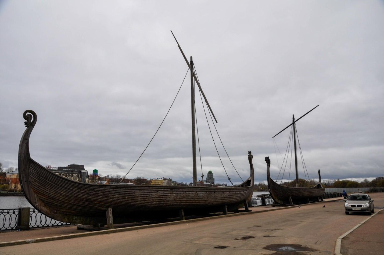 Корабли Викингов Драккары, Выборг
