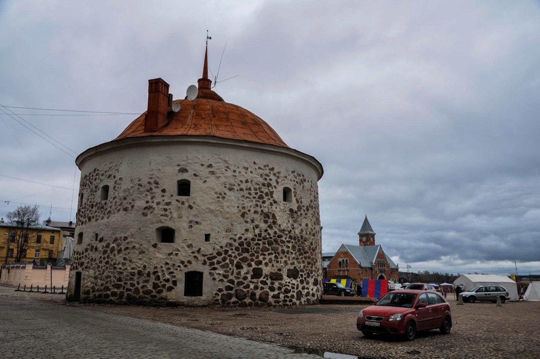 Толстая Катерина, Круглая Башня, Выборг
