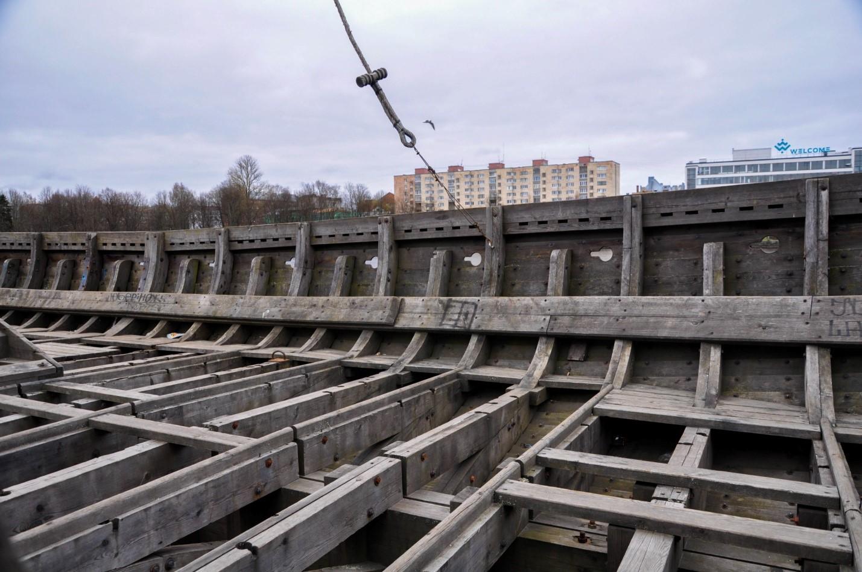 Копия кораблей Викингов Драккары, Выборг