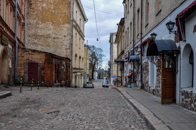 Улица Выборга