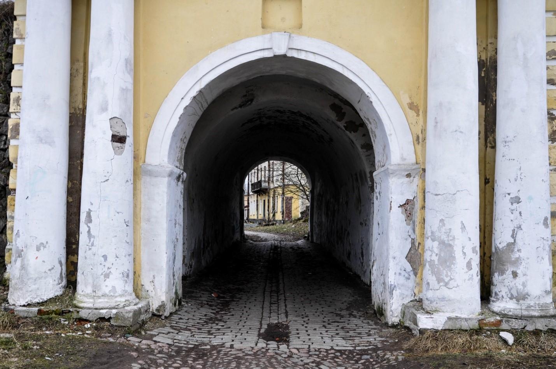 Въездные Фридрихсгамские ворота, Выборг