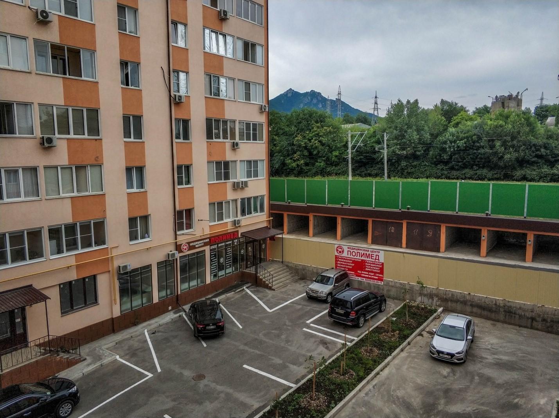 Вид из съемной квартиры, Пятигорск