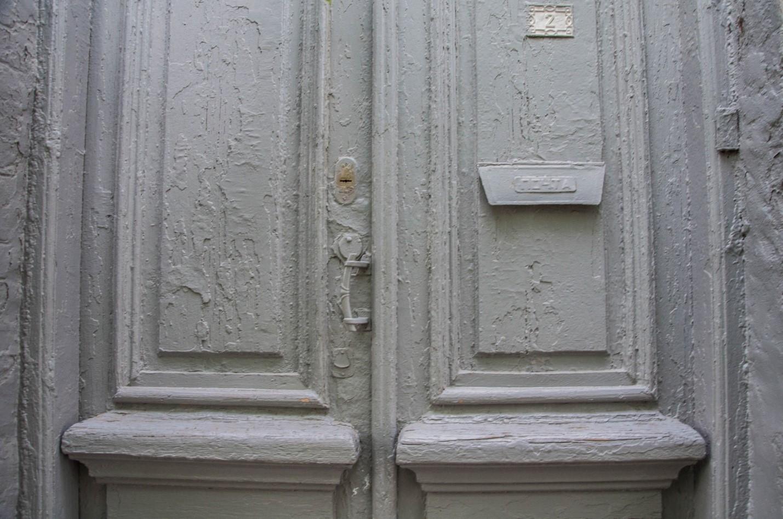 Старая дверь в Пятигорске