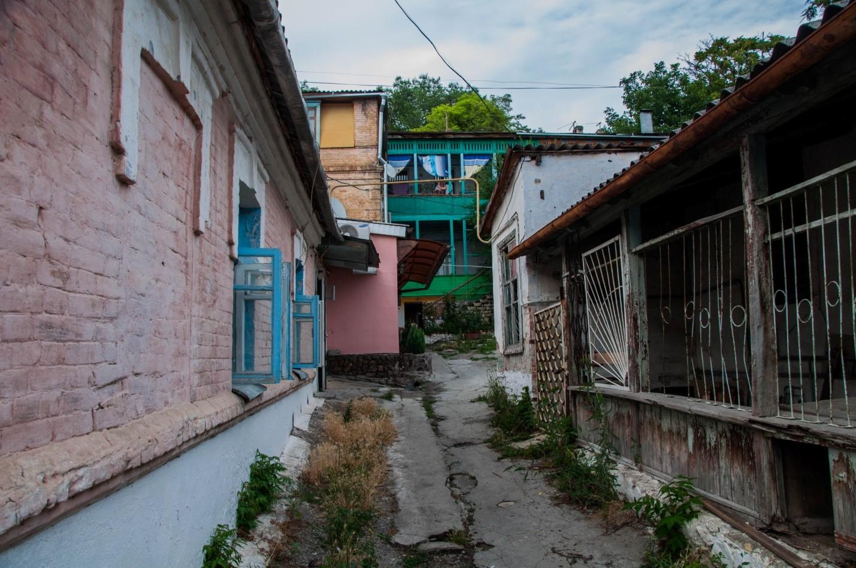Старый двор в Пятигорске