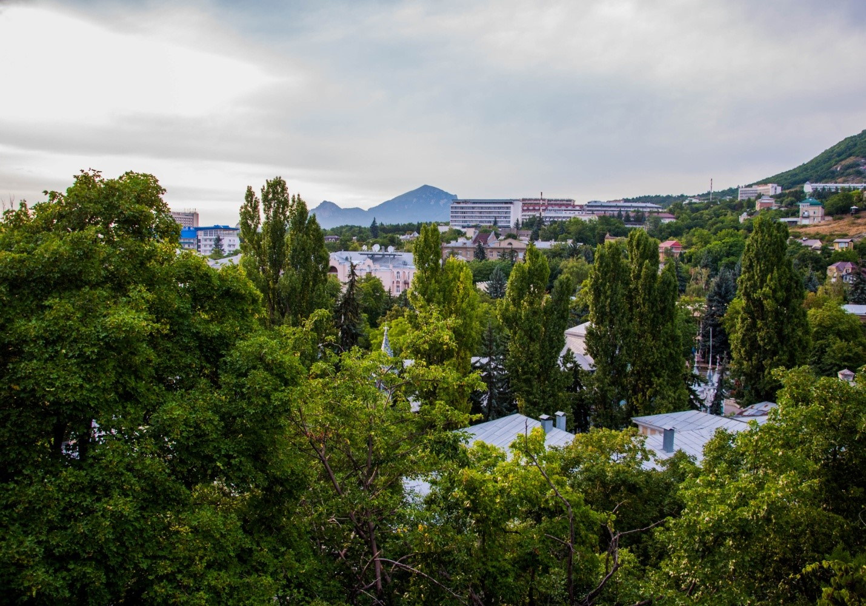 Пятигорск и гора Бештау