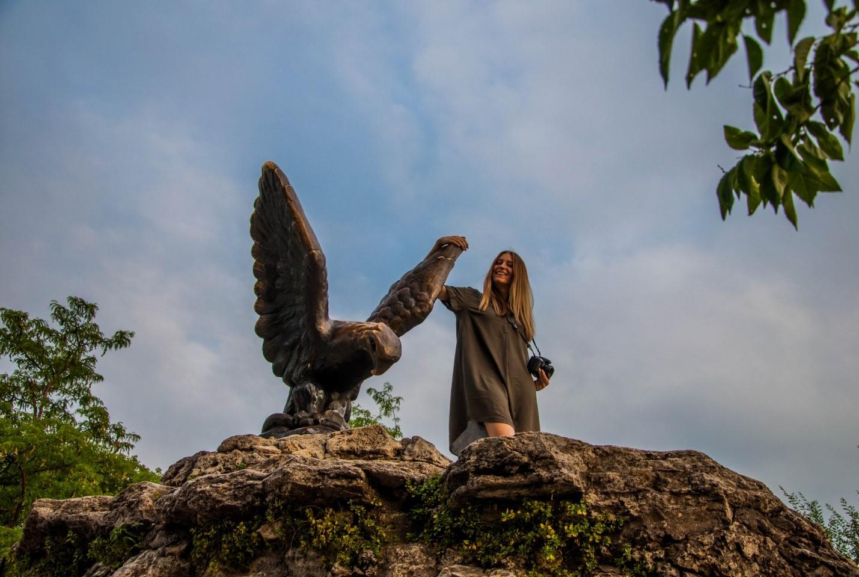 Орел в Пятигорске