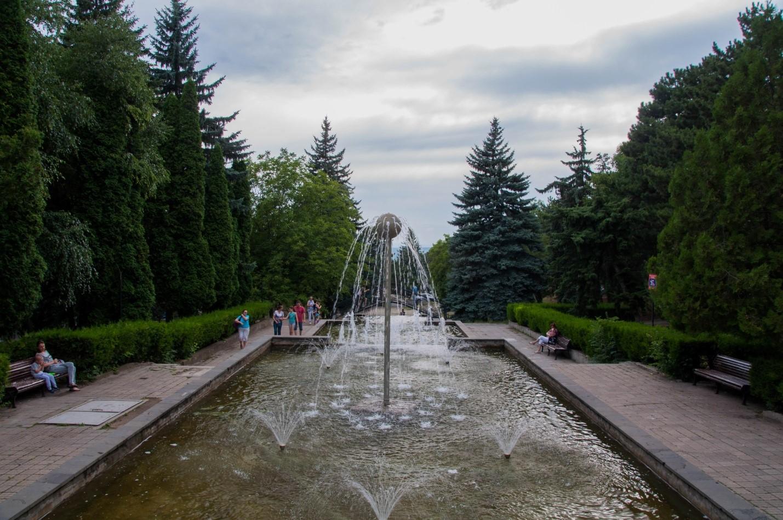 Фонтаны в Пятигорске