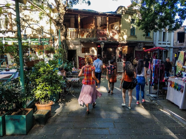 Рынок в старом Тбилиси