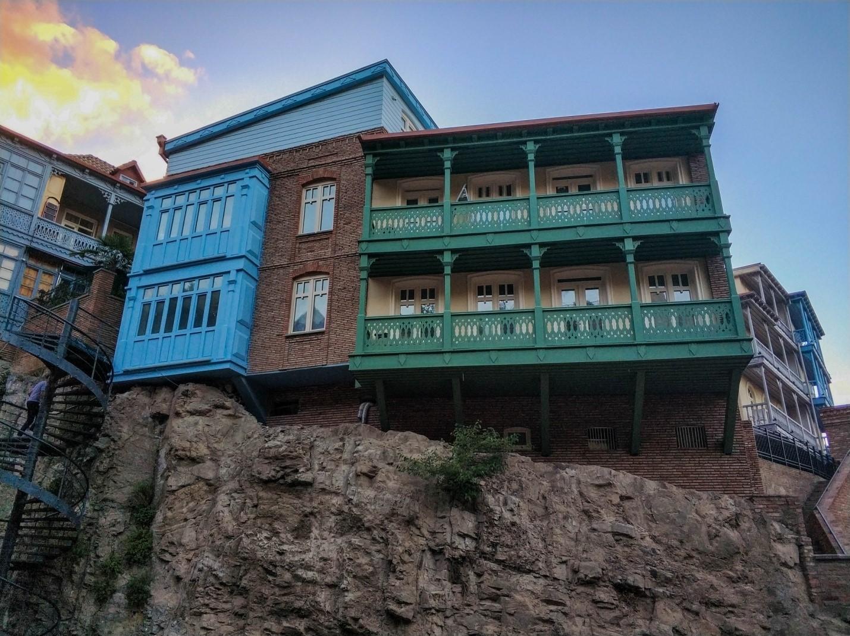 Красивые балконы в Тбилиси