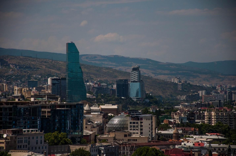 Небоскребы в Тбилиси