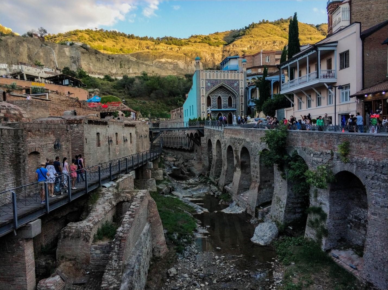 Пестрая баня, Тбилиси