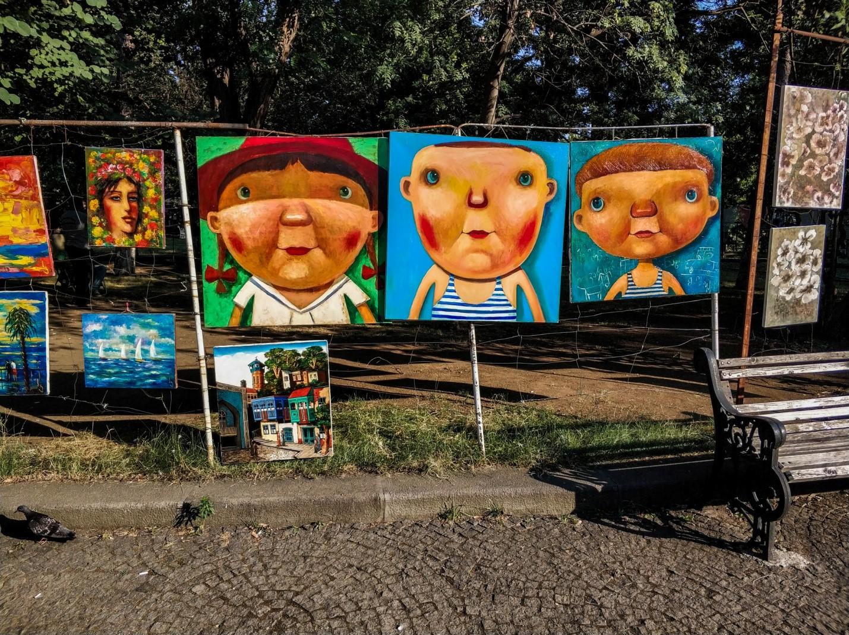 Художественный рынок на Сухом мосту, Тбилиси