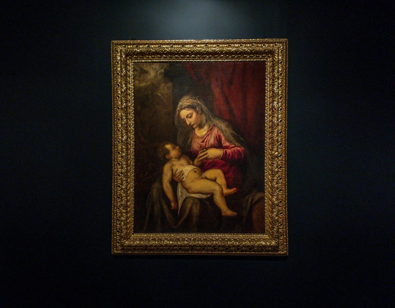 «Мадонна с младенцем» Тициана