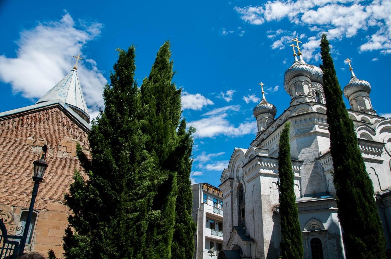 Русская церковь Святого Иоанна Богослова, возведенная в 1898–1901 гг, Тбилиси