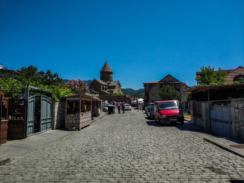 Туристическая улица Мцхеты, Грузия