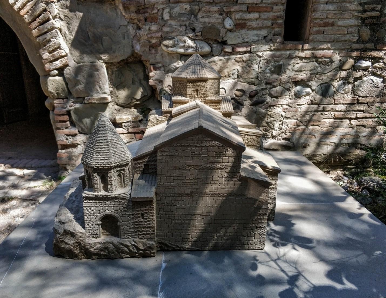 Шио-Мгвимский монастырь в миниатюре, Грузия