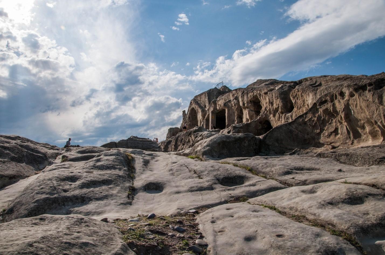 Древний город в скале, Уплисцихе, Грузия