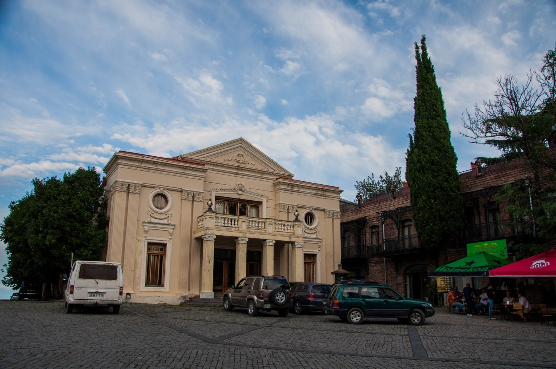 Площадь Давида Строителя, Сигнахи, Грузия