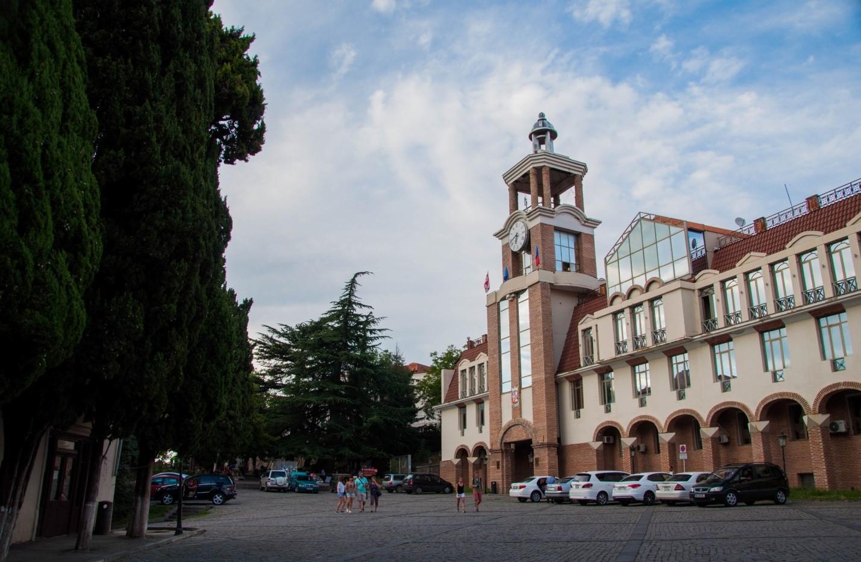 Здание мэрии Сигнахи, Грузия