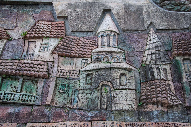 """Памятник в парке """"9 апреля"""", Сигнахи, Грузия"""