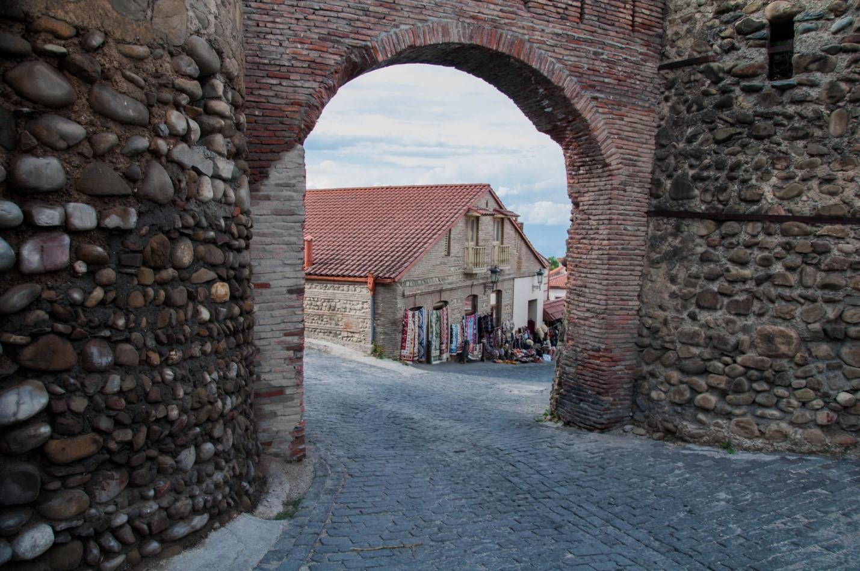 Фрагмент крепостной стены, Сигнахи, Грузия
