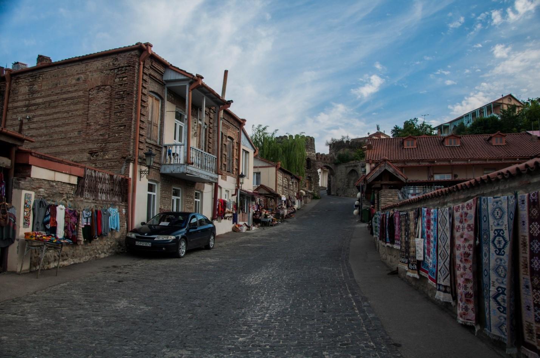 Улица в Сигнахи, Грузия