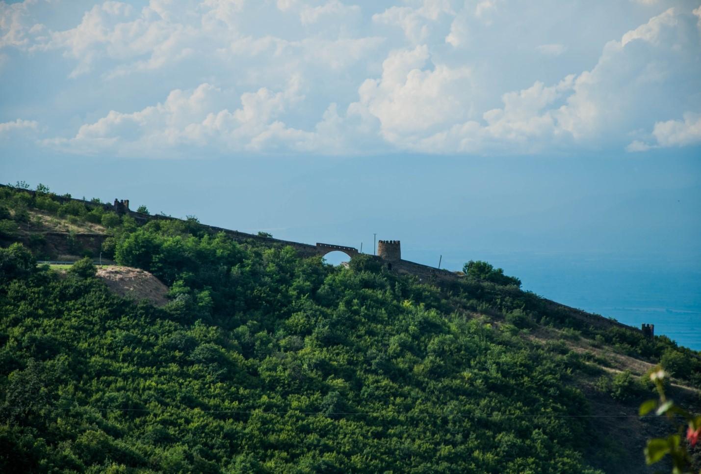 Крепостная стена в Сигнахи, Грузия