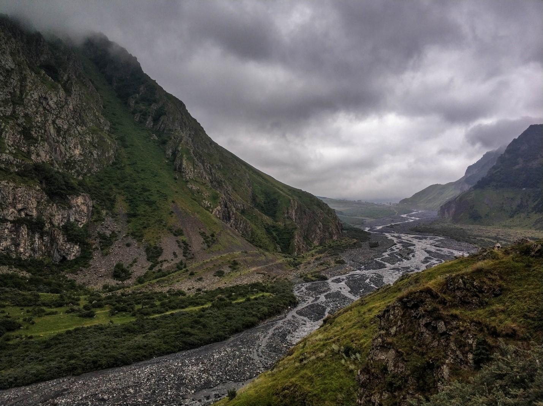 Дарьяльское ущелье, Военно-грузинская дорога, Грузия
