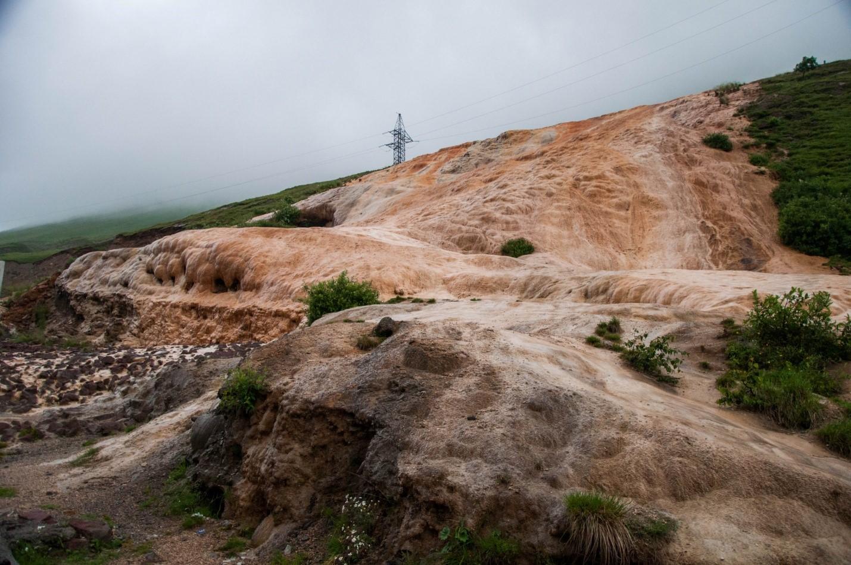 Каменный водопад на Военно-грузинской дороге, Грузия
