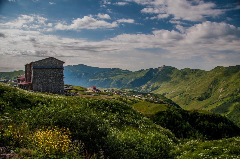 Военно-грузинская дорога, Гудаури, Грузия