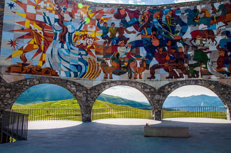 Арка дружбы народов, Военно-грузинская дорога, Грузия